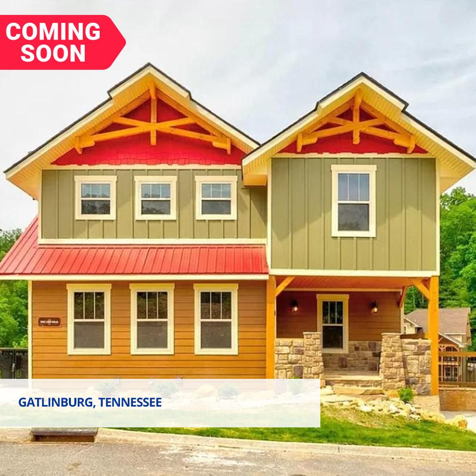 Gatlinburg, Tennessee. 4-bed, 6-beth, 3300 sqft